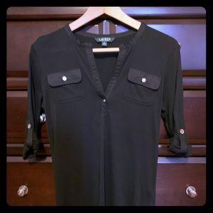 Ralph Lauren 3/4 Sleeve Dress Shirt